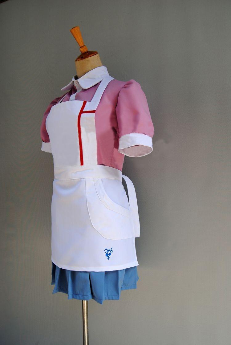 Danganronpa 2 Goodbye Despair Mikan Tsumiki Uniform Cosplay Costume Custom Made
