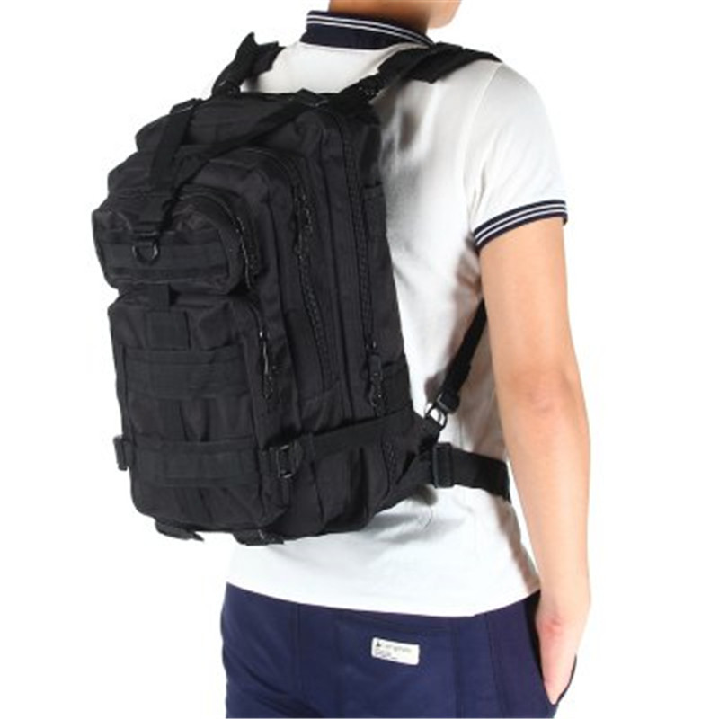3 P Militar bolso al aire libre táctico del ejército de los hombres que acampan Militar Tactical mochila Oxford para Ciclismo deportes escalada bolsa 25l