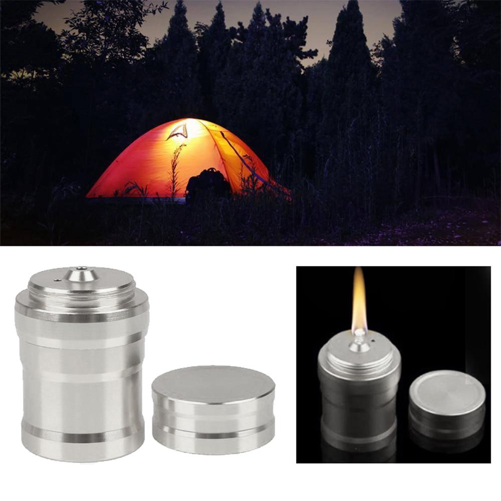 Серебристая кухонная прочная Спиртовка, удобная нагревательная походная спиртовая Лампа, алюминиевый корпус, лабораторный дропшиппинг