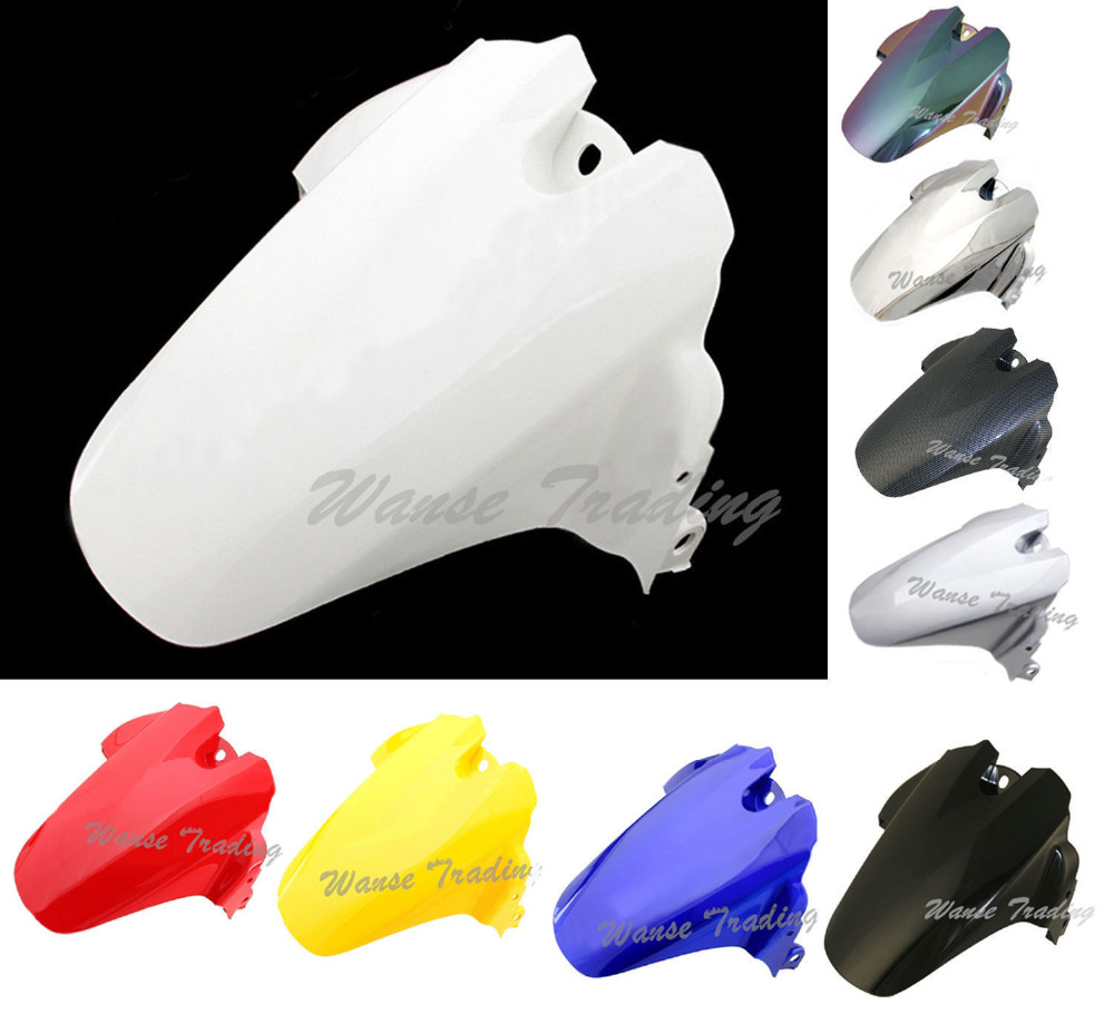 Motorcycle Rear Wheel Hugger Fender Mudguard Mud Splash Guard For Suzuki GSXR600 GSXR750 GSXR 600 750 2006 2007 2008 2009 2010 radiator grille protective cover grill guard protector for suzuki gsxr600 gsxr750 gsxr 600 750 2006 2007 2008 2009 2010 2016