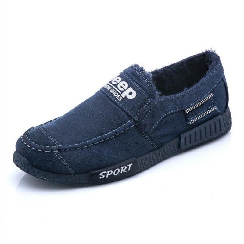Negro Lana Moda Masculino Buena Añadir Adulto De azul Caliente Zapatillas Zapatos gris Calidad Invierno Hombres Casual 2017 f7P6qwt