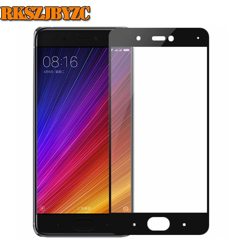 Tempered Glass For Xiaomi MI5C font b MI b font 5C full cover Screen Protector 9H
