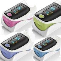 Best price 5 colors Fingertip Pulse Oximeter Mini Blood Monitor
