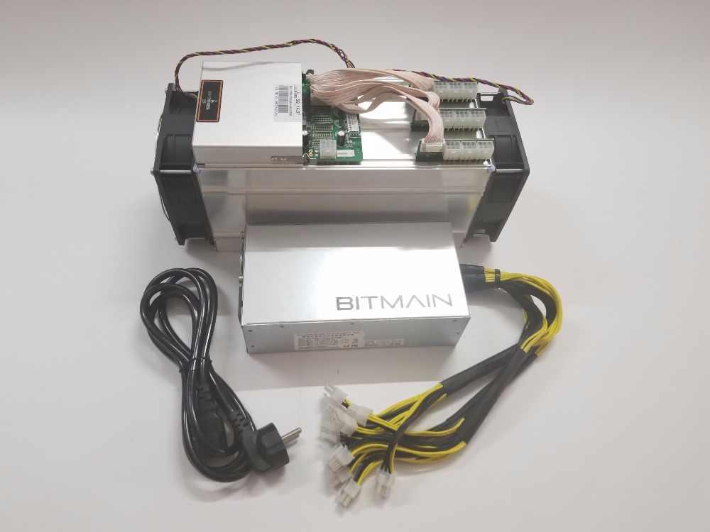 YUNHUI AntMiner S9 до 14 ти лет с BITMAIN APW7 1800 W Биткойн Майнер шахтерная микросхема 16nm Btc BCH SHA-256 Майнер биткоинов врубовая машина