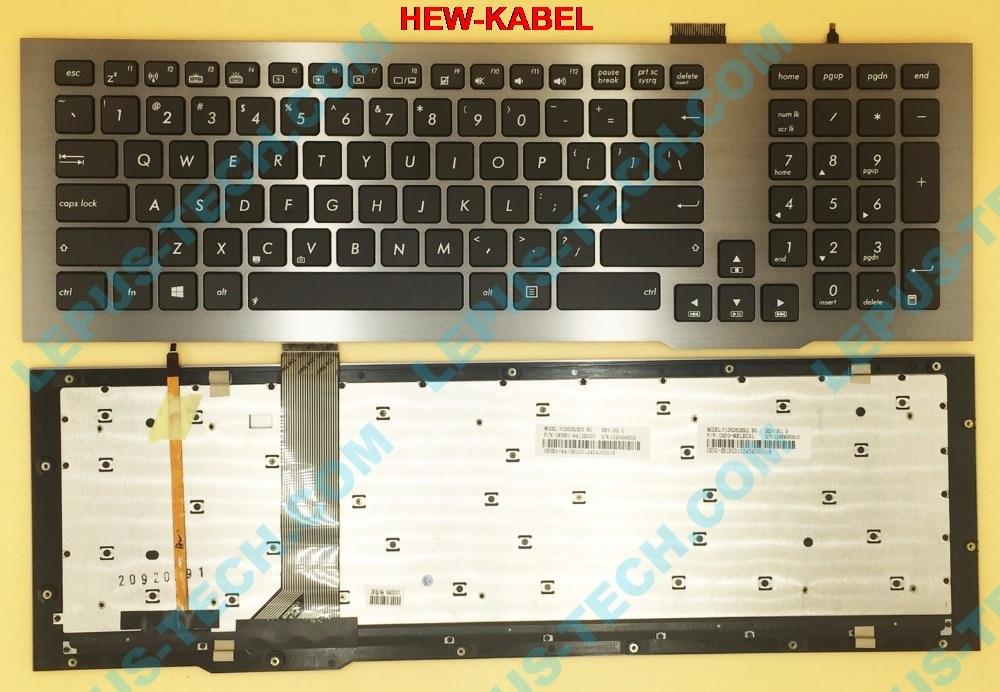 Original US Keyboard for ASUS G75 G75VW G75VX keyboard with backlightOriginal US Keyboard for ASUS G75 G75VW G75VX keyboard with backlight