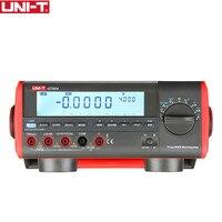 UNI-T UT804 ЖК-дисплей Bench Тип Цифровой мультиметры Вольт Ампер Ом Емкость Гц 39999 счётчик тестер Высокая точность