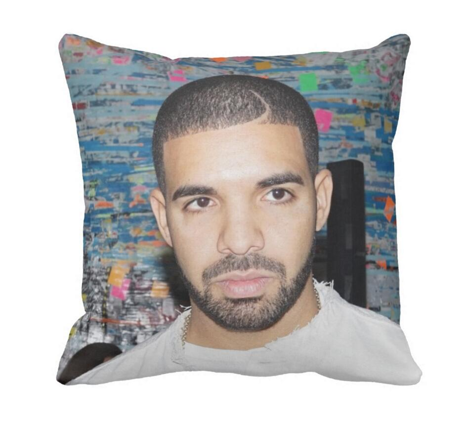 Drake Music Cool 33cmx33cm Inch Throw Pillow Case Pillowcase Cover (twin Sides)