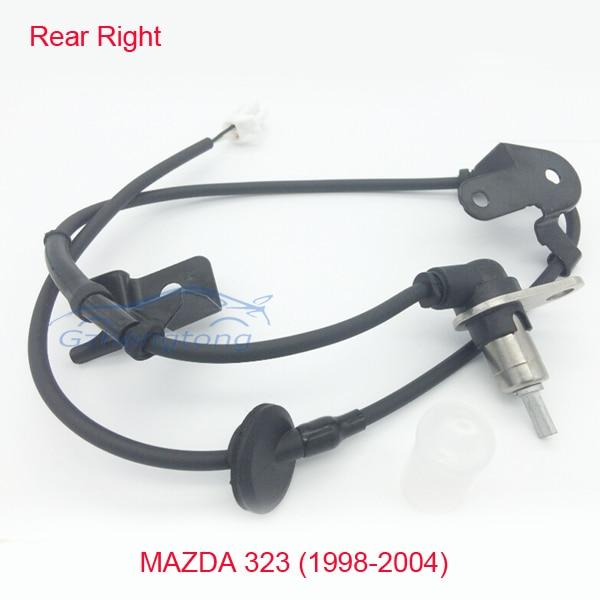 Rear Right ABS Wheel Speed Sensor for Mazda 323 VI 323F 323S MK6 98-04 B25D4371YB SS20076/338-18 Rear Wheel Sensor B25D-43-71