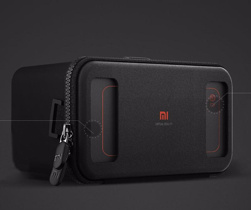 Original Xiaomi VR Virtual Reality 3D Glasses Mi VR Box 3D Virtual Reality Glasses cardboard MI VR For iphone 7 Xiaomi Samsung (2)