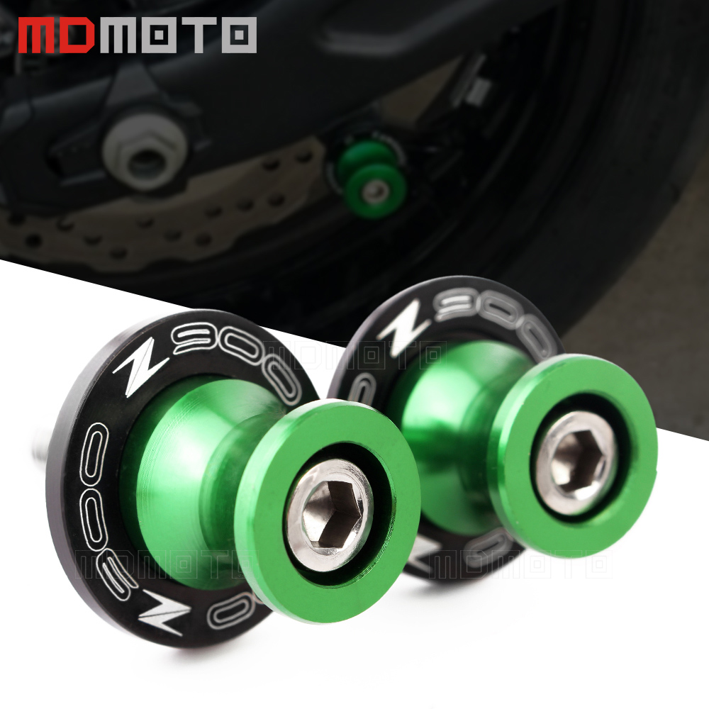 For <font><b>Kawasaki</b></font> <font><b>Z900</b></font> z 900 2017 2018 2019 <font><b>accessories</b></font> m8 bolts CNC Motorcycle Frame Stands Screws sliders Swingarm Spools Slider image