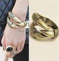 Punk vintage dragon eagle claw snake shape bracelets bangle wholesale