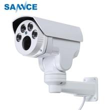 SANNCE AHD Full HD 1080p Камера 4in1 Автофокус с переменным фокусным расстоянием 2,8-12 мм 4X цифровой зум панорамирования/наклона пуля PTZ Камера IP66 в/открытый