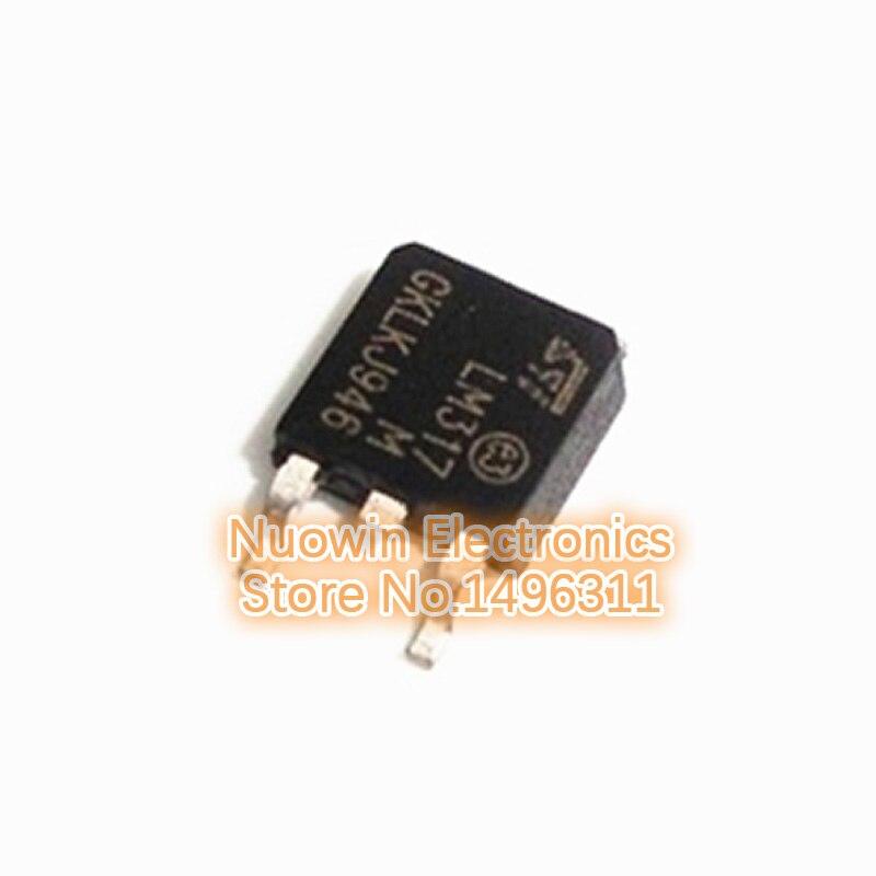 500 mA to252 DPAK 1 pièce 1,8-37v Lm317m Régulateur de tension lm317t