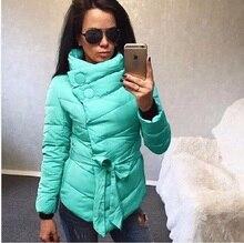 2017 Весна Chic Casual Дамы Зима толстые Теплые Хлопка Мягкой нерегулярные Пальто