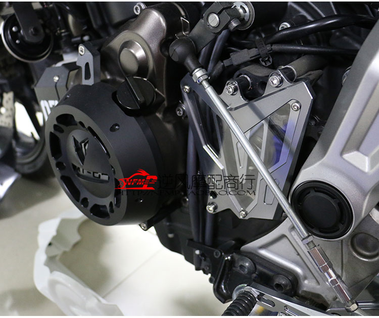 Accessories fits Yamaha MT-07 FZ07 14-16 CNC modified before the chain cover cover sprocket cover decorative cover gear cover cover co167 02