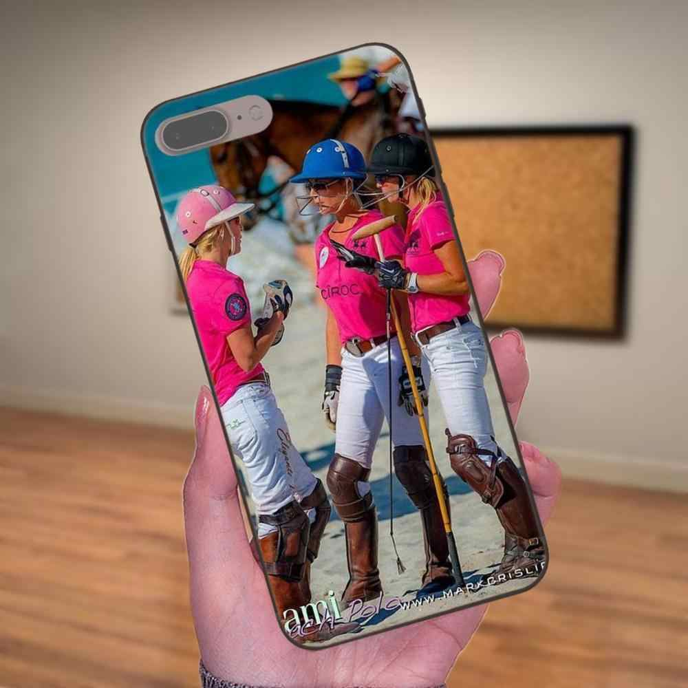 Soft Printing Polo Sport Women For Apple iPhone X XS Max XR 4 4S 5 5S SE 6 6S 7 8 Plus