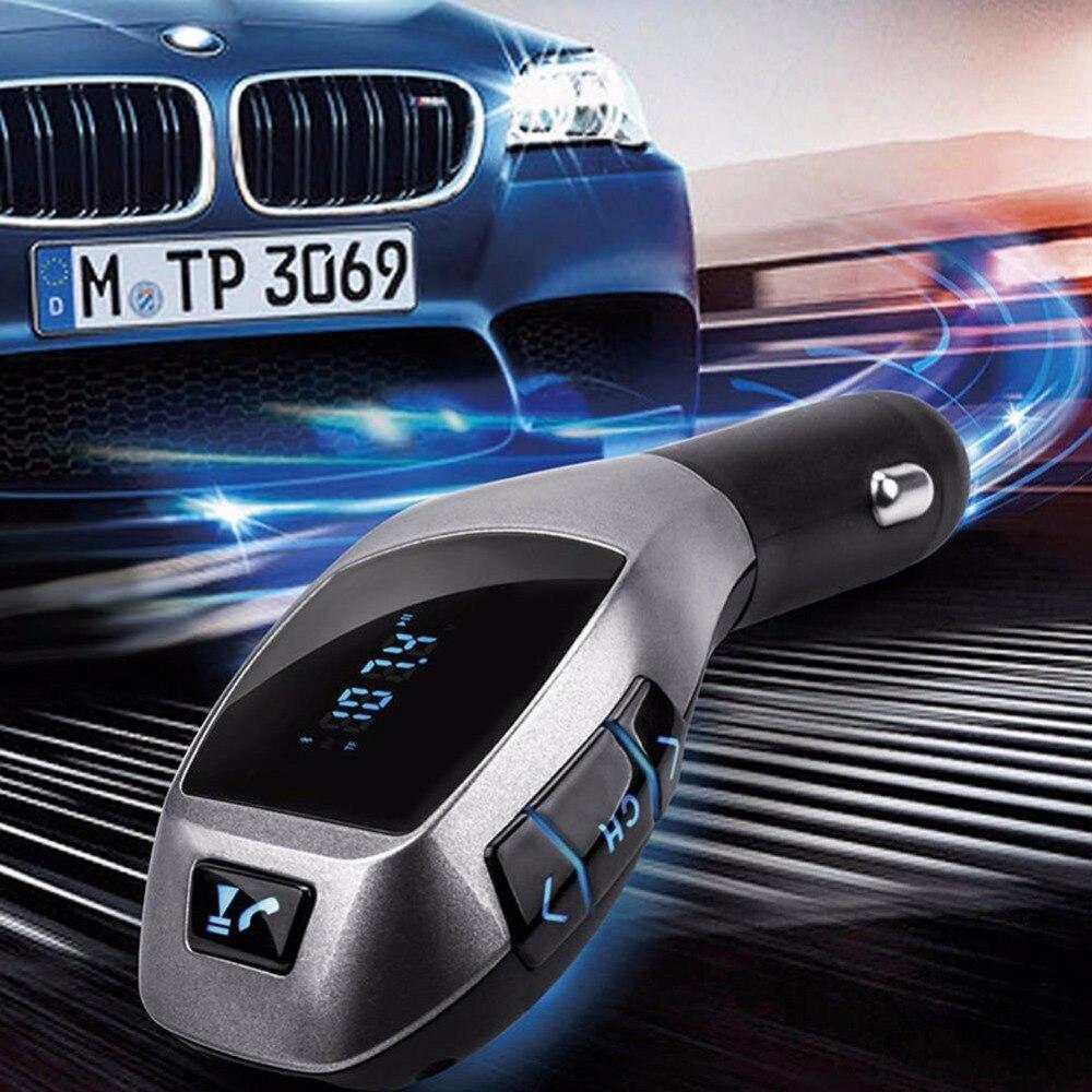 Беспроводной <font><b>Bluetooth</b></font> ЖК-ДИСПЛЕЙ <font><b>Mp3</b></font>-плеер Автомобильный Комплект <font><b>Fm</b></font>-передатчик Модулятор SD MMC USB