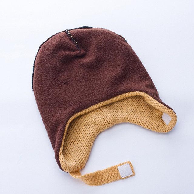 Tienda Online Invierno Bebé sombrero ganchillo lana sombrero ...