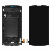 New LCD Display Digitizer Touch Screen Assembly With Frame For LG K8 LTE K350N K350E K350DS