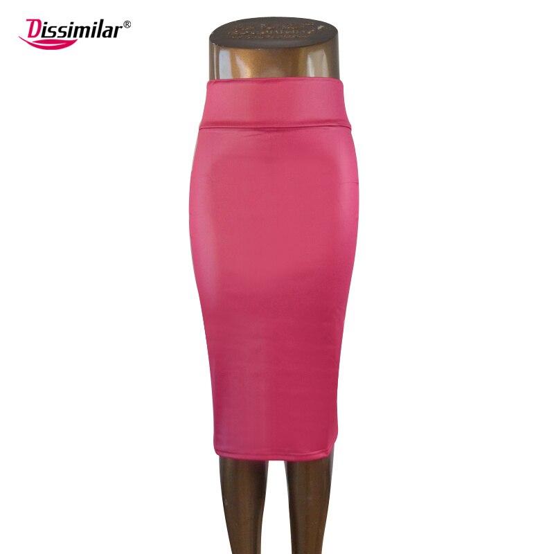 Envío gratis oficina de las mujeres falda de cintura alta falda de - Ropa de mujer - foto 3