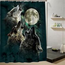 2016 Rushed New Cortina Ducha Bath Curtain Wolf Fashion Custom Shower  Curtain 3d Cartoon Pattern Bathroom Decor Drop Shipping
