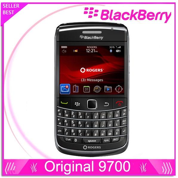 9700 téléphone d'origine blackberry 9700 3G WIFI Bluetooth GPS téléphone débloqué remis à neuf