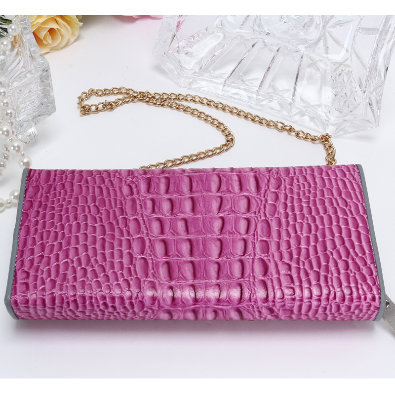 New 2018 Fashion Design Long Women Wallets Hasp Simple Crocodile pattern Multi Functional Women s Purse