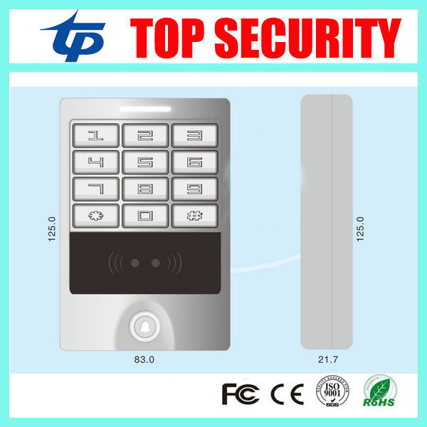 Good quality RFID card access control system 13.56MHZ IC card Mi-fare card door access control IP65 waterproof access control waterproof ic card reader door access control system rs485 232 output