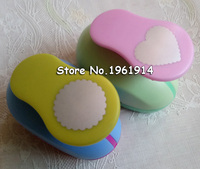 Wave Heart And Wave Circle Shape 1 Inch Hole Punch Love Puncher Crafts Scrapbooking Round DIY