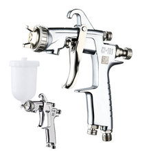 Japan High Quality W-101 Gravity Spray Gun 1.0/1.3/1.5/1.8 mm Plastic 400cc Cup   Hand Manual Sprayer Air Spray Gun 2019 New