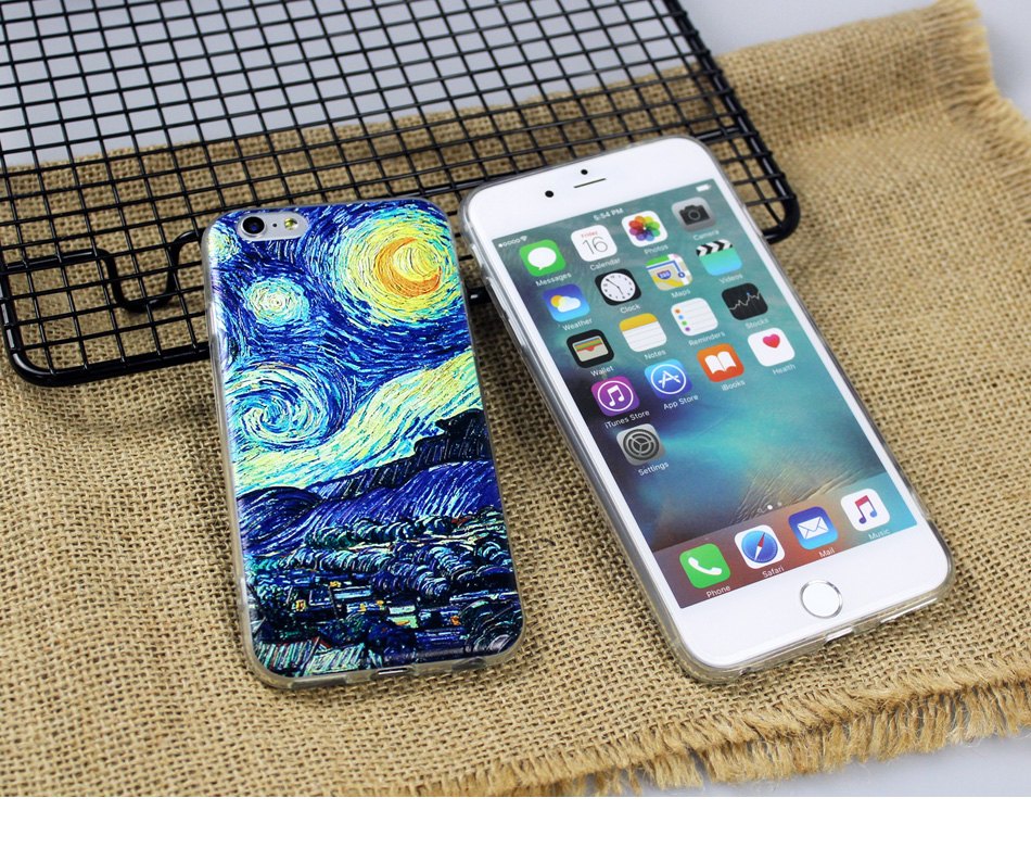 !ACCEZZ TPU Soft Cartoon 3D Protective Back Cover For Apple iphone 66s78 Plus Case Creative Patterned Phone Shell Funda Coque (21)