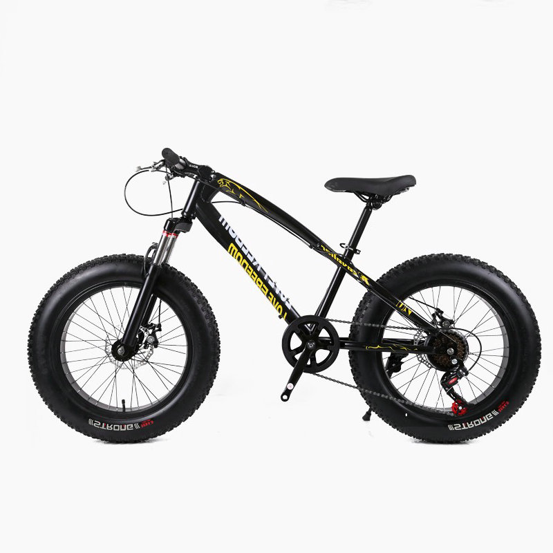 <font><b>20</b></font> inch beach snow bike large rough width 4.0 tires men and women adult students folding variable mountain bike Russian shipping