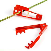 High Quality Fresh flower pliers hand Tool floral Metal Garden Flower Rose Thorn Stem Leaf stripper tools