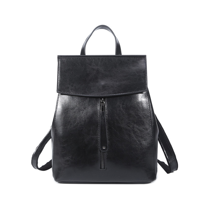 цена на High Quality Cow Split Leather Women Backpack Vintage Fashion Backpack for Teenage Girls Casual Bags Female Shoulder Bags
