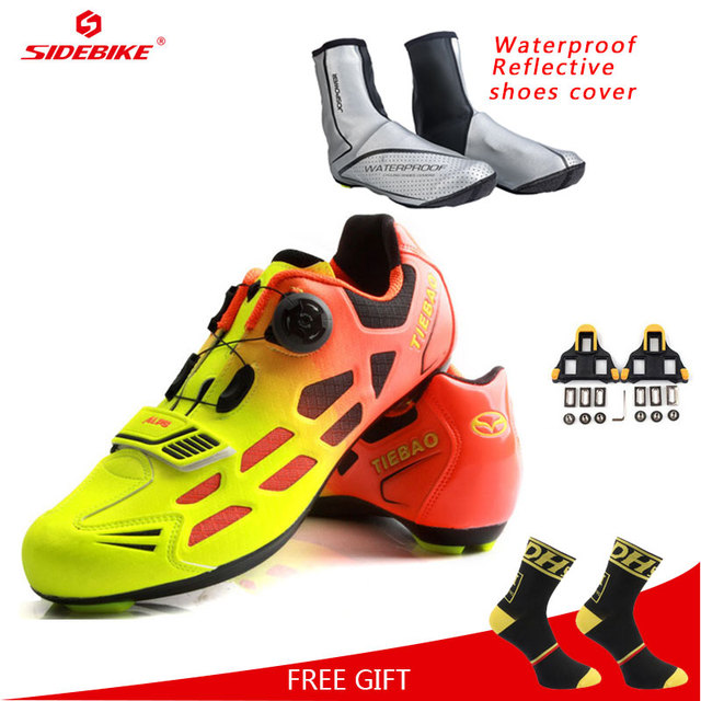 Tiebao Road Cycling Shoes Men Women Racing Bike Shoes Self-Locking Sneakers  Breathable Professional Athletic Shoes eeb5dfe89