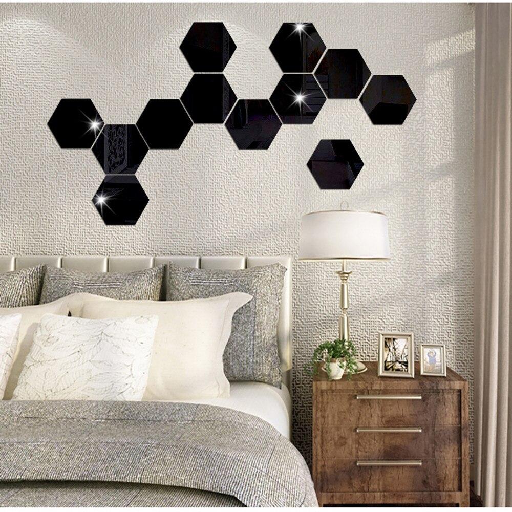 online get cheap hexagon mirror tiles -aliexpress | alibaba group