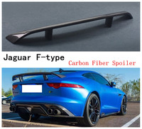 Carbon Fiber Spoiler For Jaguar F-Type 2014 2015 2016 2017 2018 Rear Wing Spoilers High Quality Auto Accessories