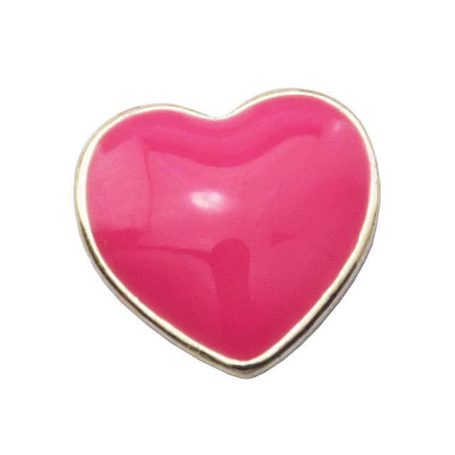 Beads FOR Jewelry Making DIY Sterling-Silver-Jewelry Pink Heart Petite Bead Char