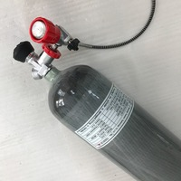 Hot Sale 6 8L 300bar High Pressure Wrapped Composite Carbon Fiber Cylinder Paintball Use From Acecare