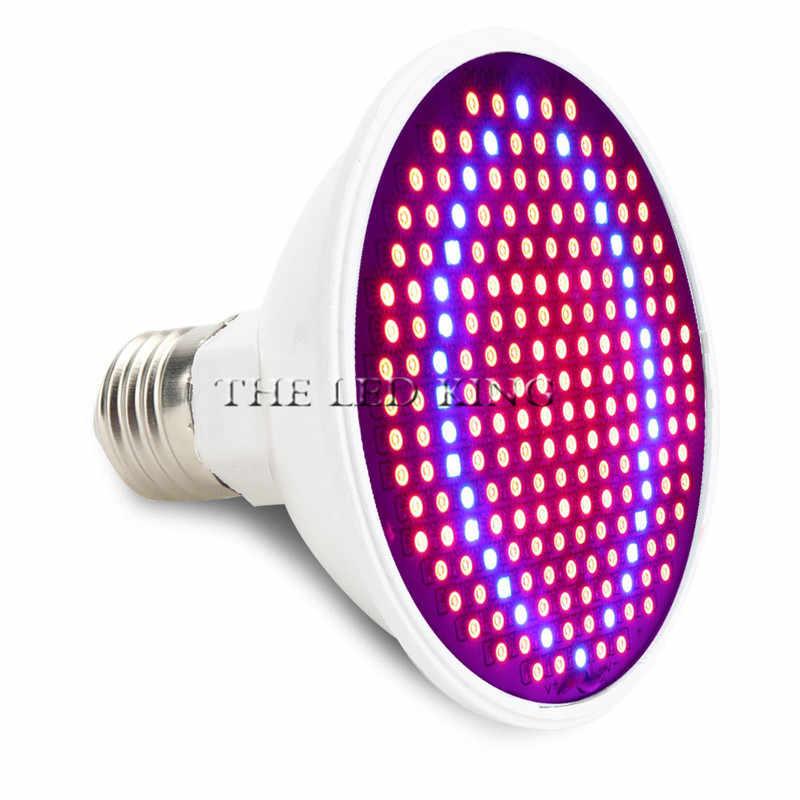 ספקטרום מלא cfl LED לגדול אור Lampada E27 E14 MR16 GU10 מקורה צמח פורח מנורת הידרופוניקה מערכת IR UV גן 110 v 220 v