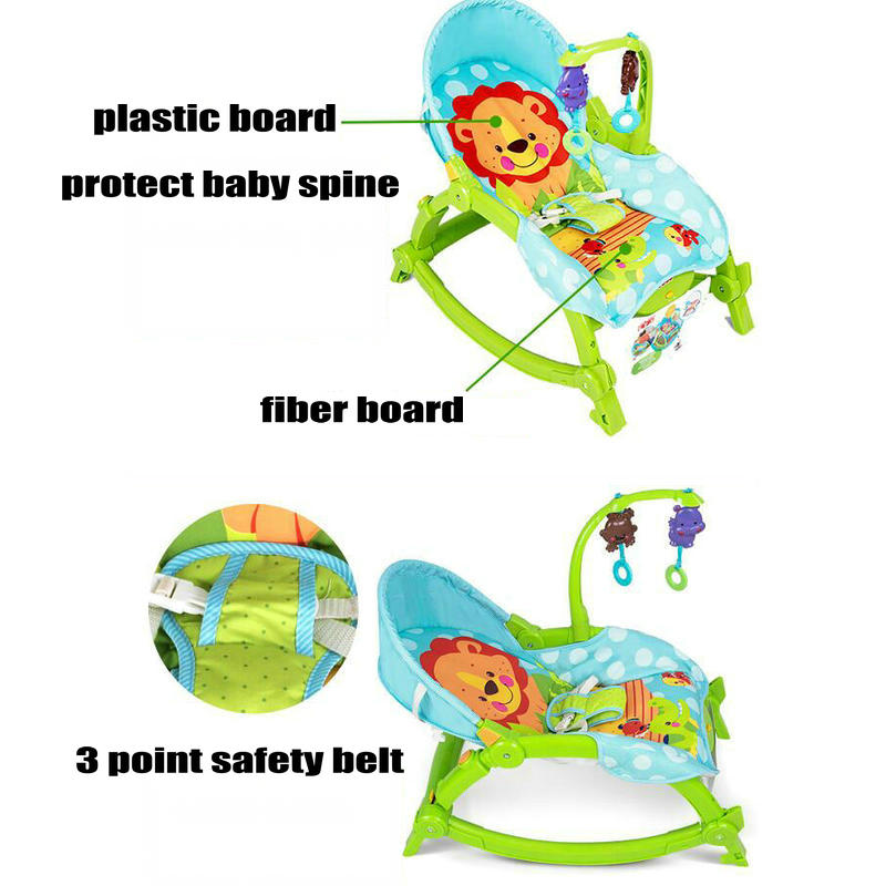 piękne dziecko elektryczne bujane krzesło 2016 najnowsze dziecko - Aktywność i sprzęt dla dzieci - Zdjęcie 2