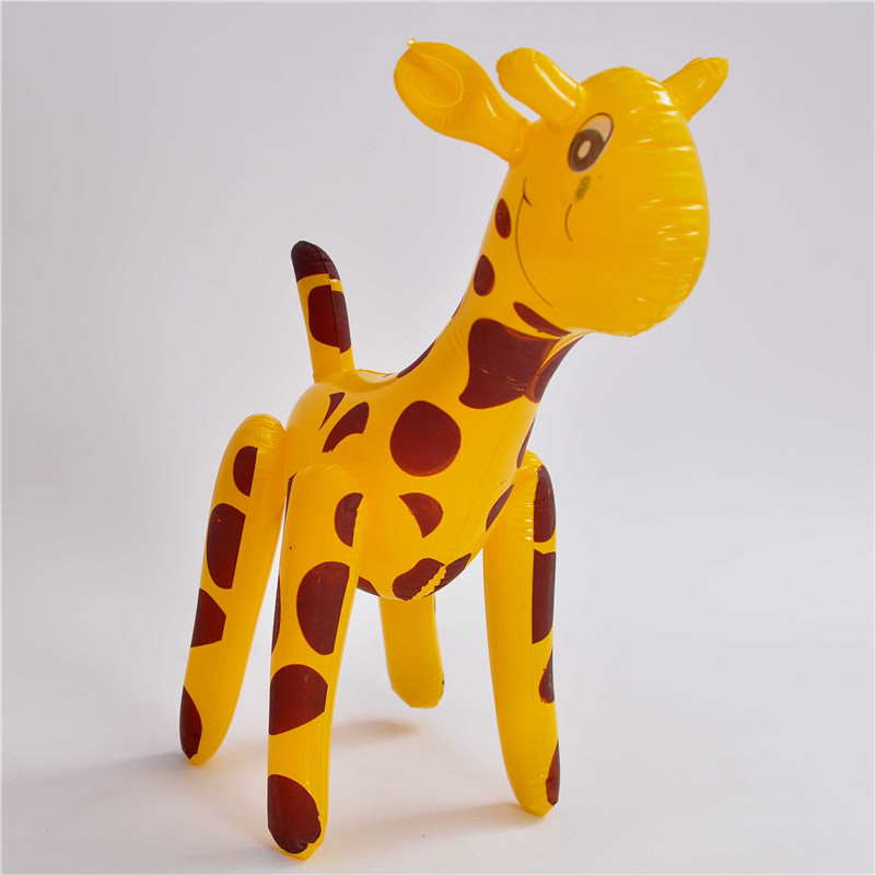 Cheerleading & Souvenirs Sports Souvenirs Reliable Summer Children Cartoon Toy Hot-selling Inflatable Large Sika Deer Shape Blow Up Party Decor Pool Kids Toy Gift Souvenirs