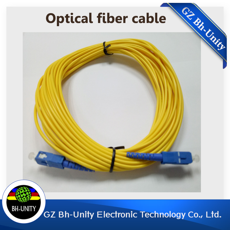 good quality 10 meters optical fiber cable for myjet wit color inkjet printer spare part