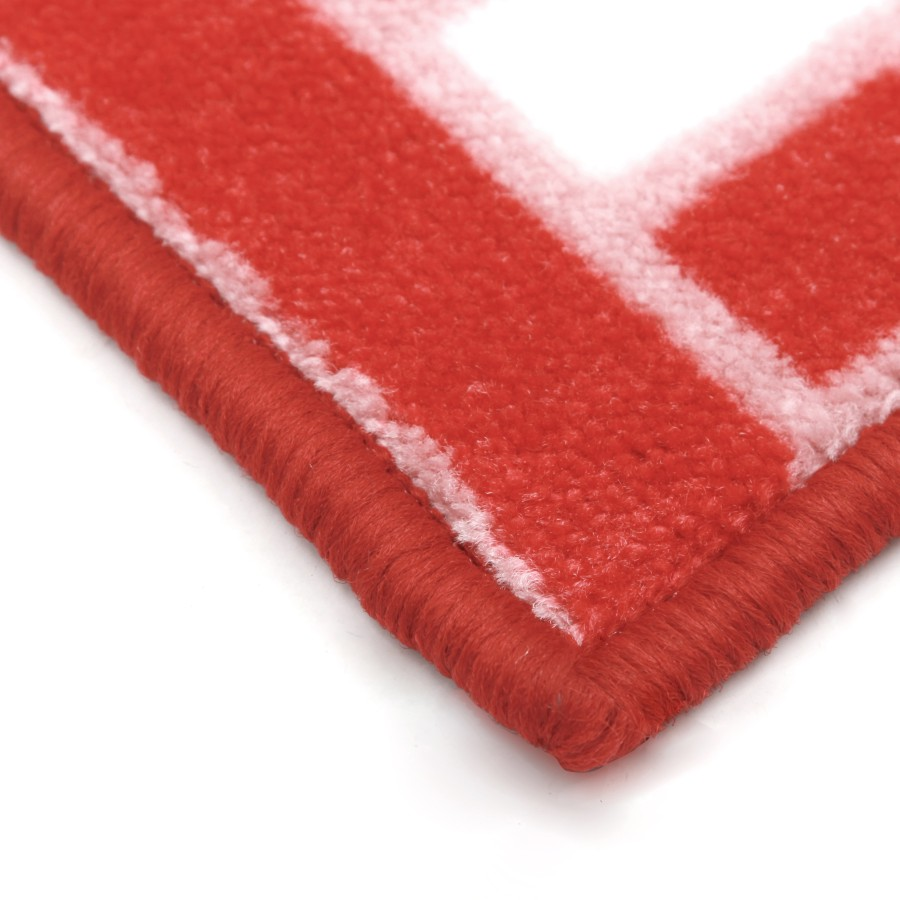 Collalily nordic soggiorno tappeto tappeto stuoia plaid geometrico marocco indiano rosso bianco a strisce moderno salone di design contemporaneo in