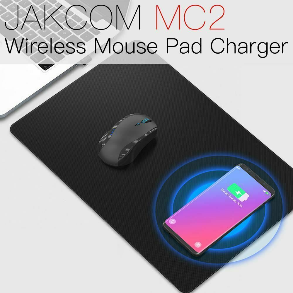 JAKCOM MC2 Wireless Mouse Pad Gaming Support Mobile phone charging with Waterproof Desk Mat