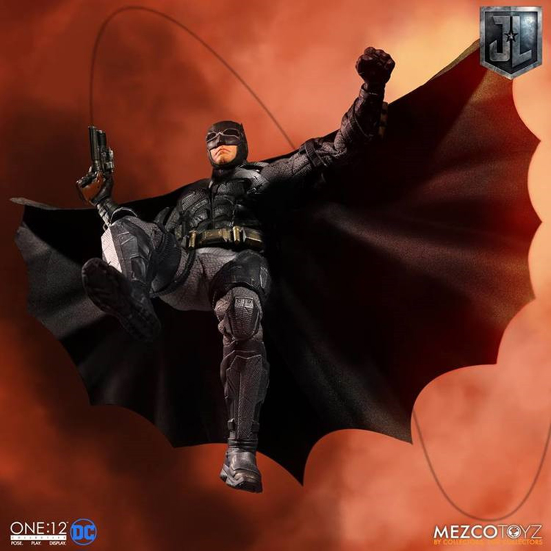 17cm figure doll 1 12 Scale JusticeLeague Batman Tactical Suit full set doll for collection New year gift toys model figure in Action Toy Figures from Toys Hobbies