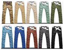 2015 New Arrival Men's Jeans Casual Straight Pants Men Slim Fit Elegant Classic Longs Mens Trousers Plus Size M-3XL