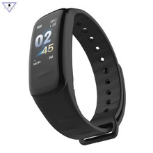 Ssmarwear C1s Smart Wristband Fitness Tracker take blood pressure Heart Rate Monitor sleep Tracker Bracelet For Android IOS letike f1s fitness tracker color screen blood pressure smart bracelet heart rate monitor sleep tracker wristband for android ios