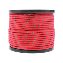 Outdoor Reflective Camping Canopy Cord Paracord Tent Reel Roll Guy Rope Line Fluorescent Reflective Guy Rope Multipurpose Tool