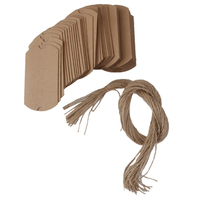 Kraft Vintage Boxes Brown Shabby Rustic Wrapping Gift Candy Boxes With Rope Wedding Favor Pack Of